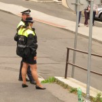 Unusual Police Uniforms in Karlovy Vary