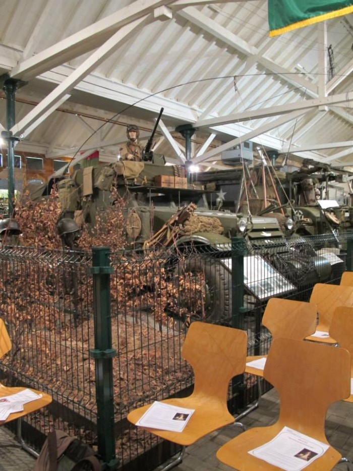 At the WWII museum in Diekirch