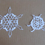 'Day Off' snowflake by Snowcatcher - blocked and not blocked