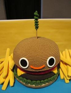 Happy Burger by Nicole Gastonguay