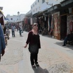 Posing in the medina