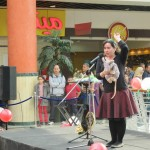 Performing Opera Mouse in the mall