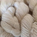 Spun Romney fleece