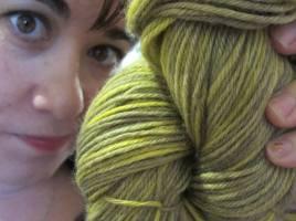 Melanie buys yarn