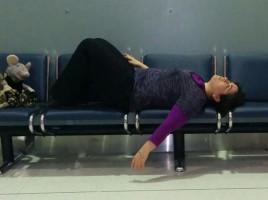 Tired Traveller