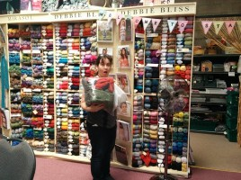Yarn Shopping at Stash