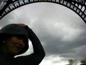 Eiffel Tower Hailstorm