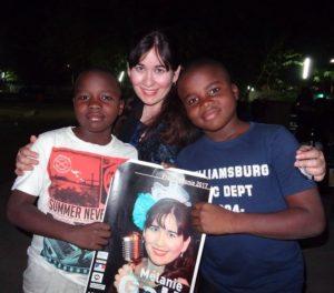 Melanie in Chad