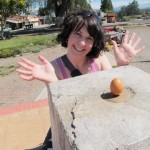 Egg balancing on the Equator