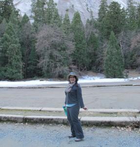 Melanie in Yosemite