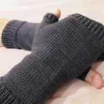 SavvyBro's Fingerless Mitts (from Socks That Rock, Mediumweight)