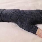 SavvyBro's Fingerless Mitts (from Socks That Rock, Mediumweight)