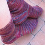 Just Yer Basic Sport Sock (from Socks That Rock, Mediumweight)