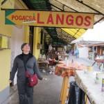 Lángos - Hungarian Fried Flat Bread