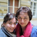 Melanie with Edit in Budapest
