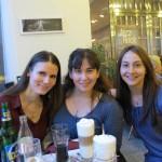 Pretty girls at Mrs. Rybecek's birthday party