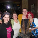 Podcaster dinner with Helen, Abby, Jasmin & Gigi
