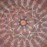 Centre of Feather and Fan Shawl